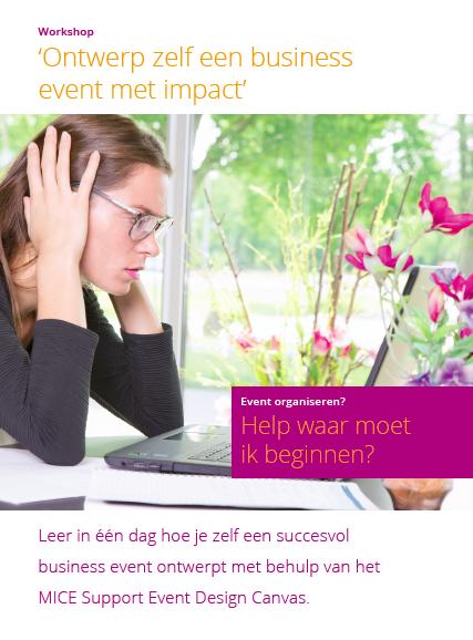 Workshop 'Ontwerp zelf een business event met impact'