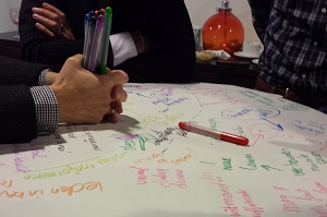 World Cafe Lemmens Faciliteert